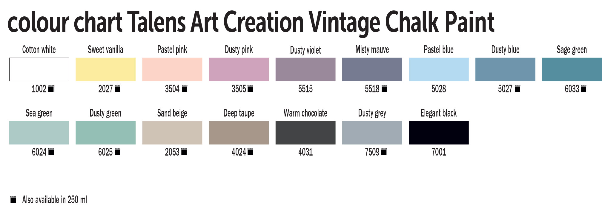 TAC Vintage chalk paint