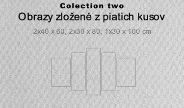 5 dielne obrazy - colection two