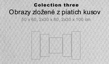 5 dielne obrazy - colection three