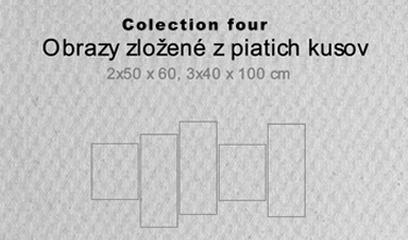 5 dielne obrazy - colection four