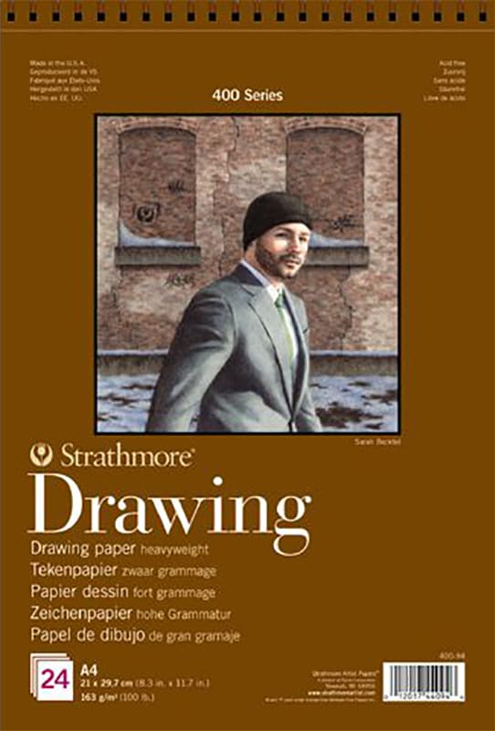 Strathmore Drawing A4 21x29,7cm 400 series 163g 24ks