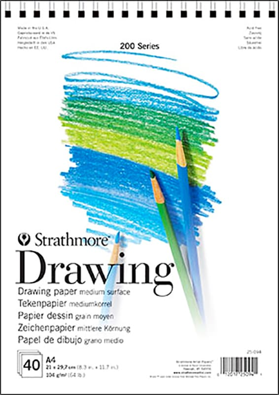 Strathmore Drawing A4 21x29,7cm 104g 40ks