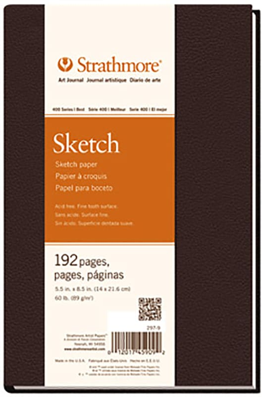 Strathmore Sketch Art Book 21,6x27,9cm 89g 192ks