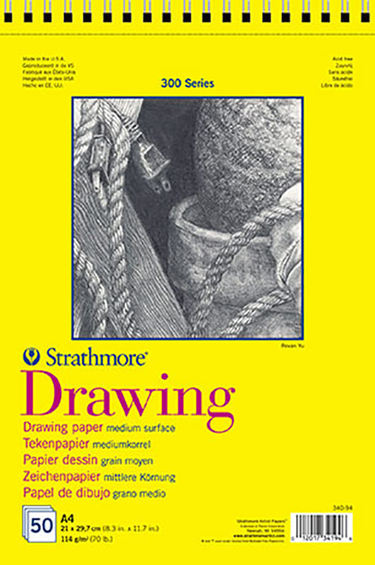 Strathmore Drawing A3 29,7x41,9cm, 50 listov, 300 series
