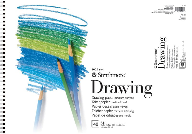 Strathmore Drawing A2 41,9x59,4cm 104g 40ks