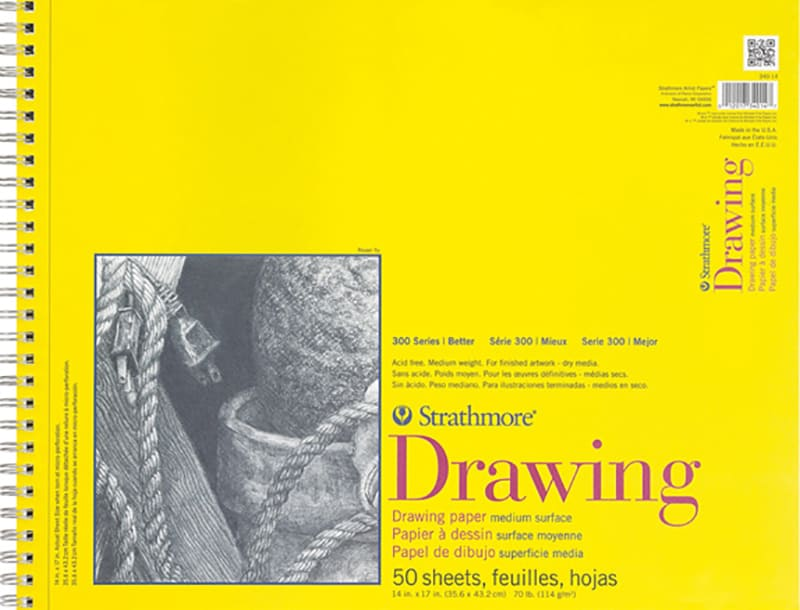 Strathmore Drawing A2 41,9x59,4cm 114g 50ks