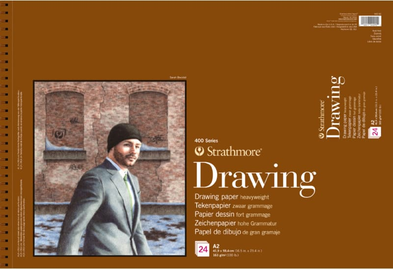 Strathmore Drawing A2 41,9x59,4cm 400 series 163g 24ks