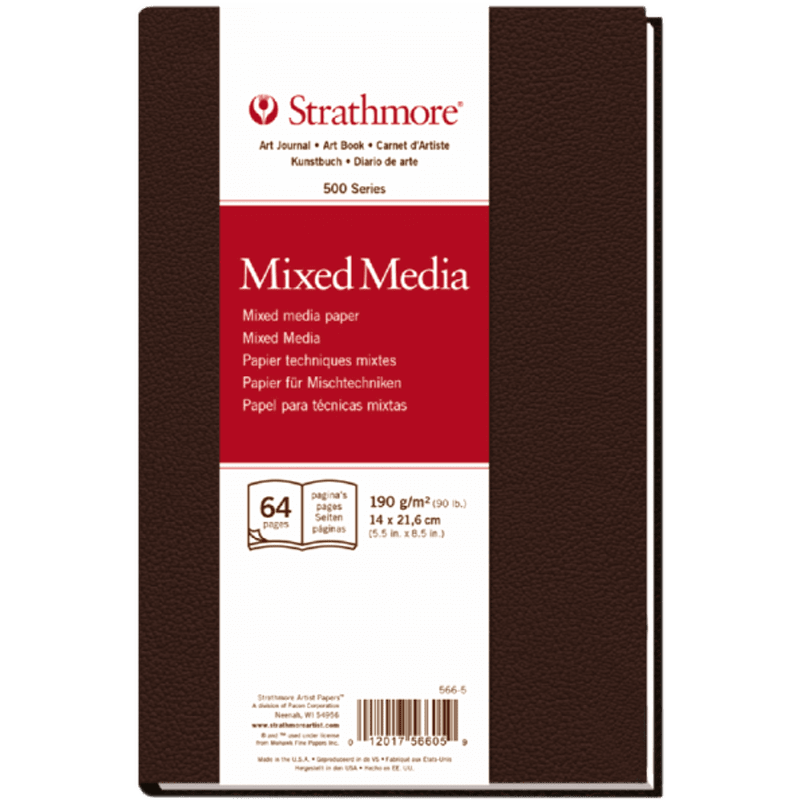 Strathmore Mixed Media Art Book 14x21,6cm 190g 64ks