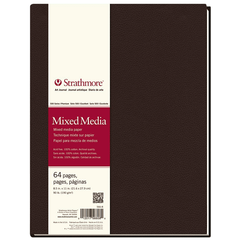 Strathmore Mixed Media Art Book 21,6x27,9m 190g 64ks