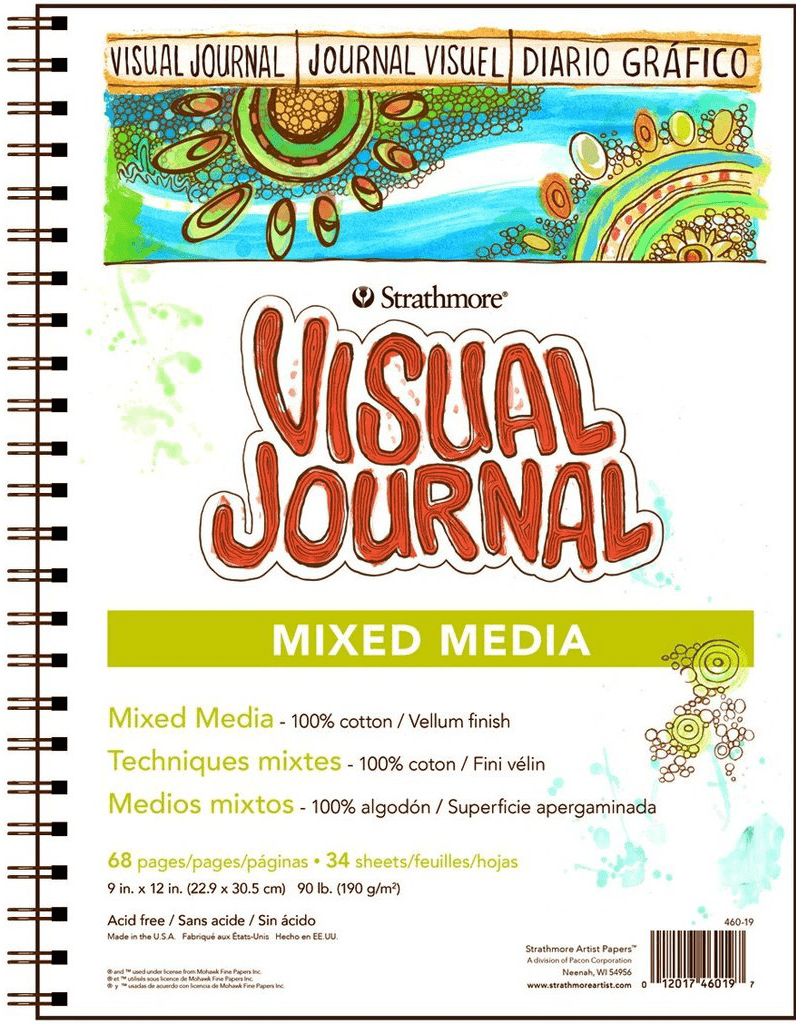 Strathmore Visual Journal Mixed Media 500 series 22,9x30,5cm 190g 68ks