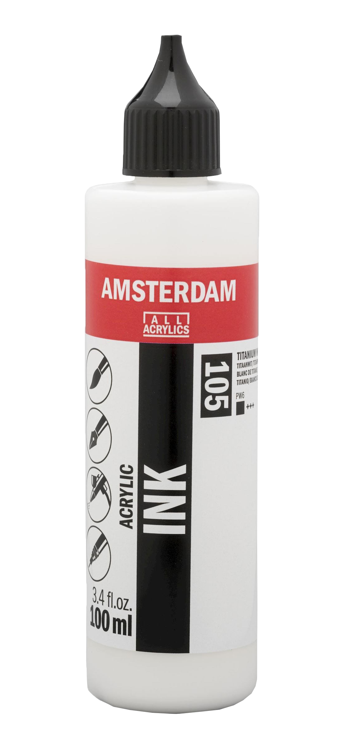Amsterdam akrylový atrament v tube 100ml